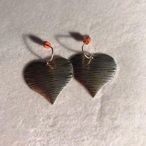 Jewelry - Heart Dangle Earrings